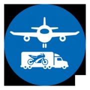 logo transport flugzeug lkw negativ-web